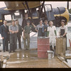 Taking leave of the fish filleting staff. Beaver Lake. 06/22/1946