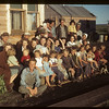 Construction camp - co-op farmer veterans and families. Carrot River. 07/18/1949