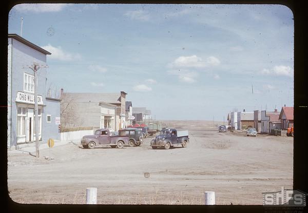 McCord main street. McCord. 06/25/1951