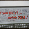 "Billboard advising ""If you drive - drink tea"" located on Winnipeg Street. Regina 12/28/1956"