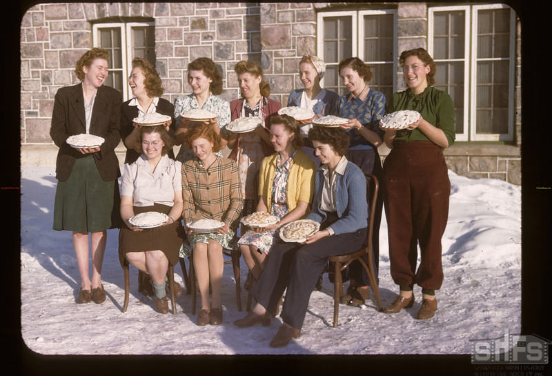 11 Pie Markers 11 Pies - Youth Training school. Kenosee.  11/27/1949