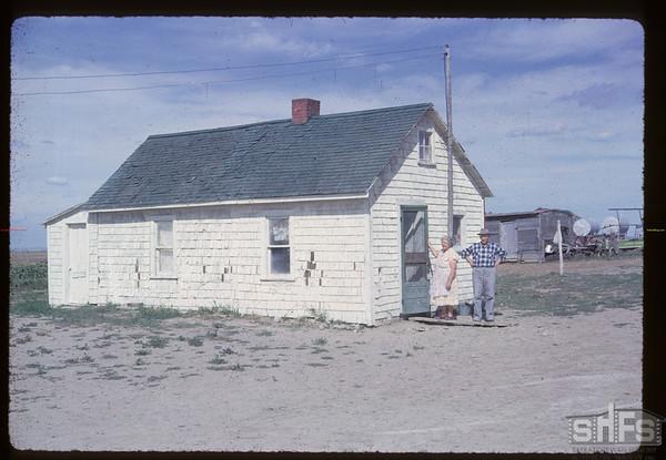 Ben Schmidt home. Claydon. 10/01/1953