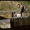"""Tony Ranere. Stockade 4' down 20"""" up. Fort Carleton. 06/20/1966"""