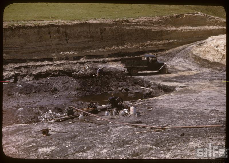 N. H. Wilkin's lignite coal mines. Shaunavon. 06/18/1947