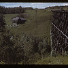 Train trestle near Stan Jarvis home. Frenchman Butte. 06/26/1943