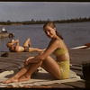 Adele Andrews at the Regina Boat Club. Regina 08/03/1947