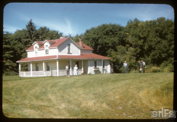 Surridge house. Rocanville 08/09/1957