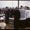 Father Bleau's funeral. Dollard. 07/29/1957