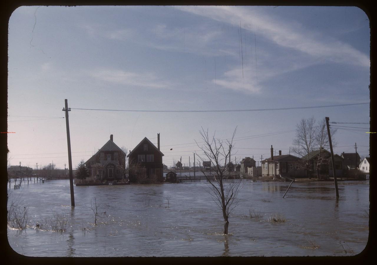 Wascana floods. Regina 04/11/1948