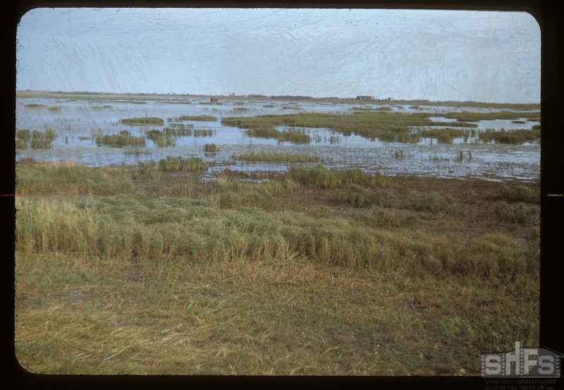 Duck Lake - dry for 18 years.Duck Lake. 10/04/1948