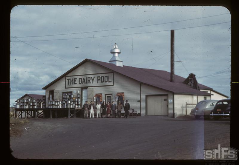 The Dairy Pool creamery. Biggar. 09/23/1942