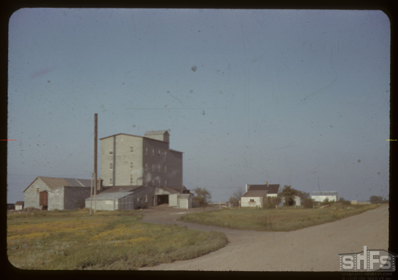 Co-op flour mill owned by S.C.W.S. Outlook. 08/24/1942
