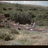 Archaeologist dig - under supervision of Tom & Alice Kehoe - 6 miles south & 3 miles west of Gull Lake. 07/16/1960