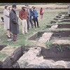 Archeological dig Old Fort Carleton. Fort Carleton. 09/12/1965
