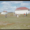 Divide school & teacherage. Divide. 09/14/1951