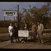Director R. M. Pugh and staff - Co-op Honey Producers. Fort Qu'Appelle. 09/28/1942
