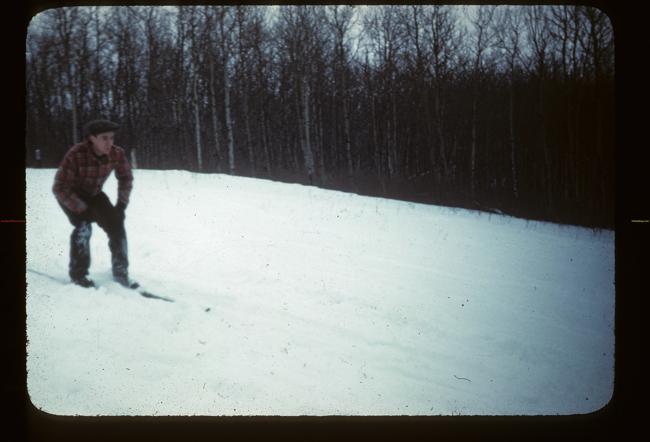 Skiing. Y-T-S. Kenosee.  11/27/1946