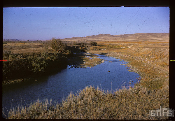 Frenchman River near Dick Greenley's. Climax. 09/29/1963