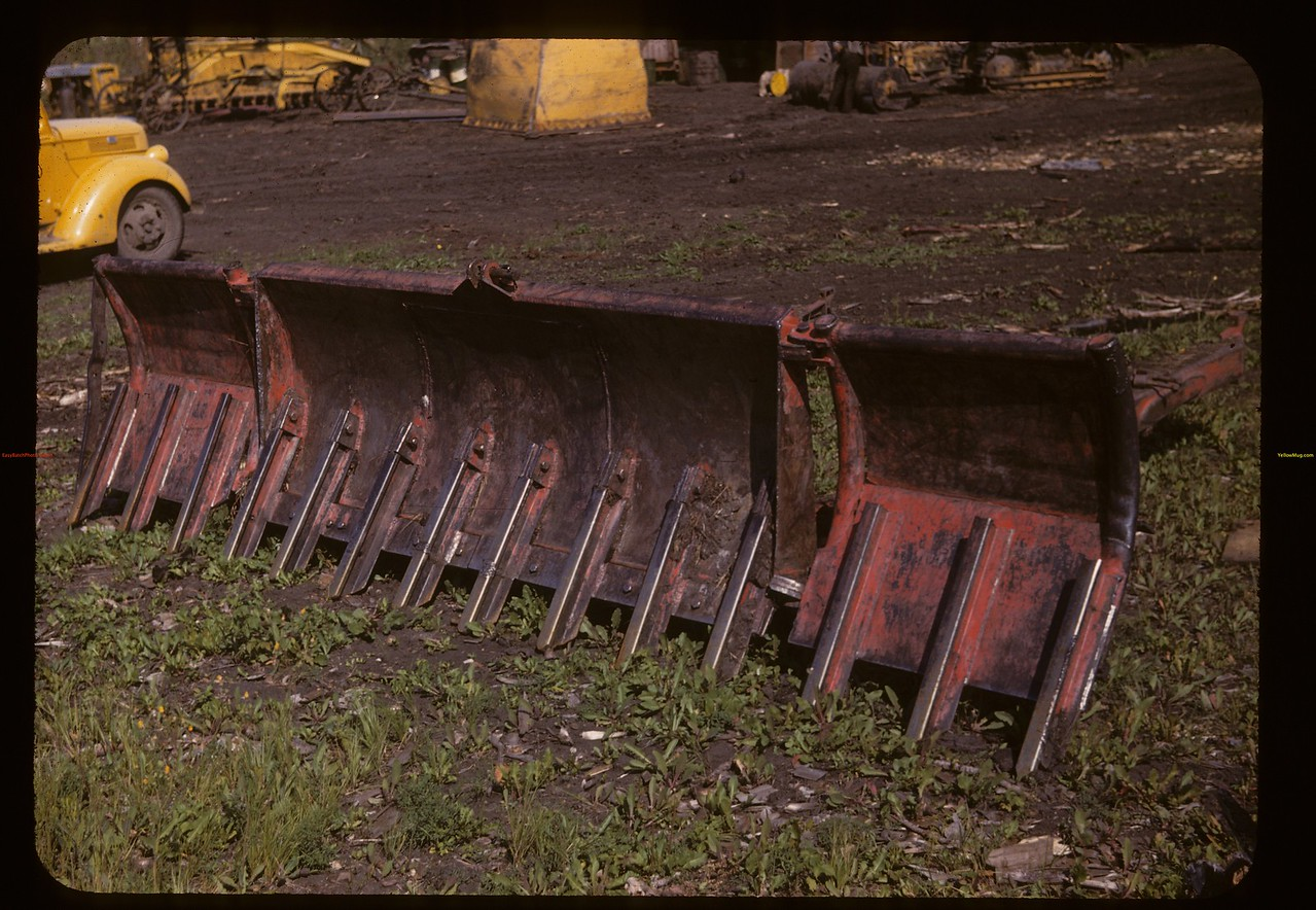 For rooting out most anything [dozer blade] Carrot River co-op farm. Carrot River. 08/21/1947