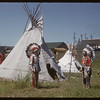 Native presentation at Pionera. Saskatoon 07/06/1956