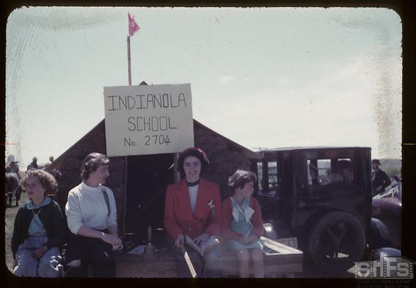 Indianola sod school. Aneroid. 05/26/1955