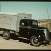 Dairy pool truck between Battleford and Biggar.  Biggar. 09/04/1941
