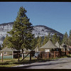 Tent cabins near camp grounds at Rundle.	 Banff.	 07/29/1951