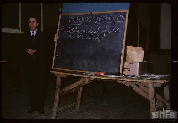 Bill McLean petroleum engineer - Consul petro clinic. Consul. 12/01/1963