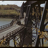 From Nipawin looking west across Saskatchewa River bridge. [bridge built in 1929]. Nipawin. 09/27/1946