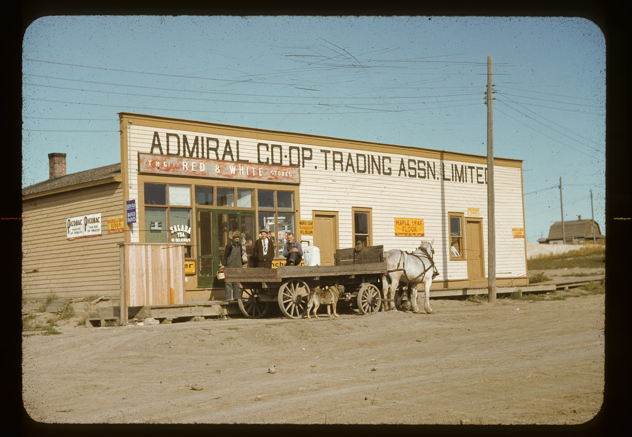 Admiral co-op store [the stores manager at this time was Truman Lloyd - brother to Woodrow Lloyd]. Admiral. 09/10/1941