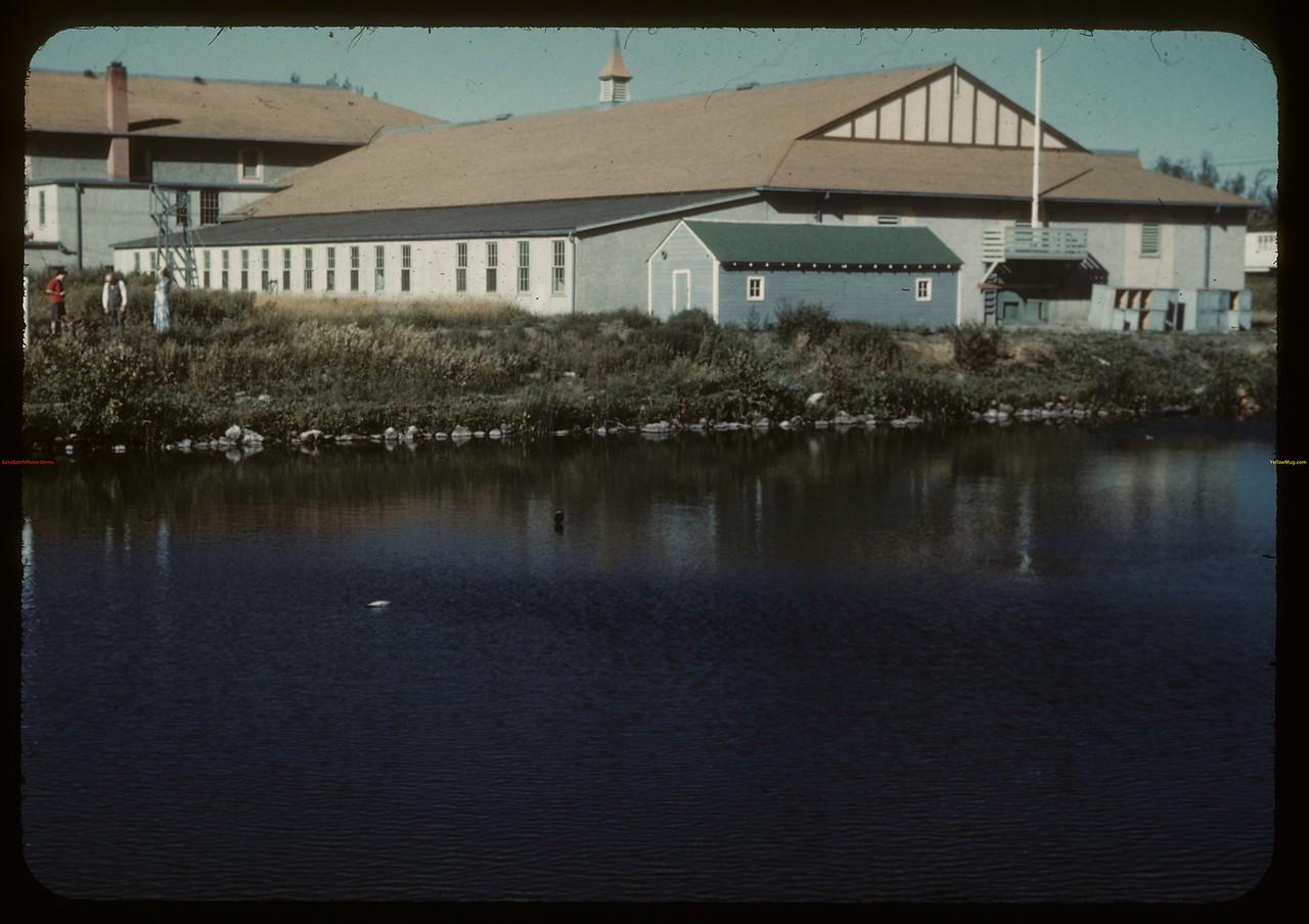 HMCS Queen near Albert St. bridge. Regina 09/01/1946