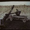 Coal stripper loading diesel truck - Western Dominion Mines Ltd. Bienfait. 09/10/1942