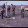 Planting trail marker. Bracken. 06/24/1961