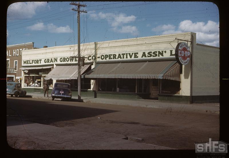 Melfort Grain Growers Co-op Association Ltd. Melfort. 09/28/1946