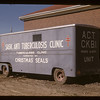 Anti TB clinic on wheels. Gravelbourg. 06/12/1947