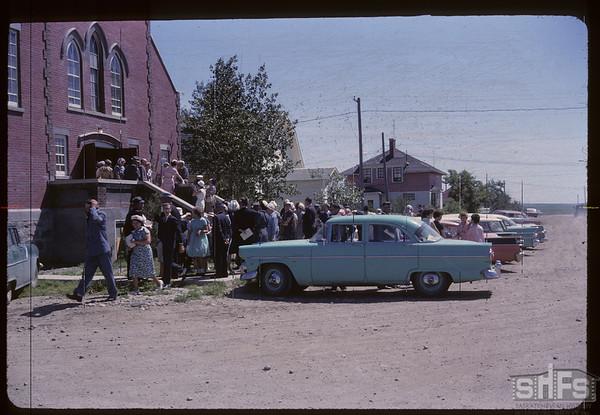 United Church. Aneroid. 07/07/1963