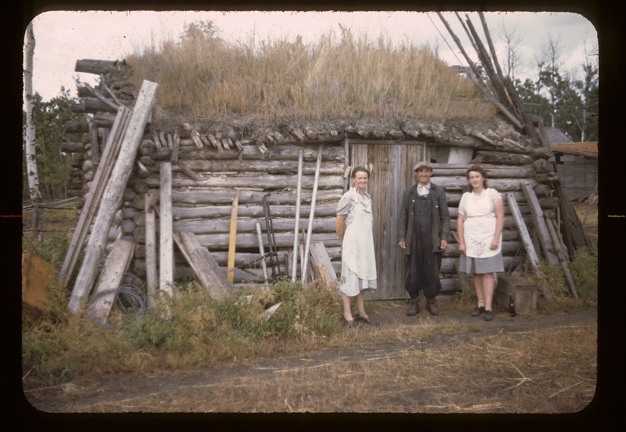 Moeckl's old Manson cabin. Brightsand. 09/08/1944