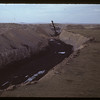 Stripper shovel in coal fields [this particular shovel was also used in the construction of the Panama Canal]. Bienfait. 09/10/1942
