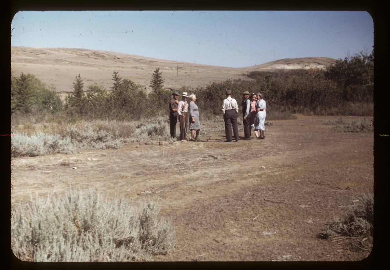 Chimney Coulee - Corky Jones tells the story. Eastend. 08/14/1949