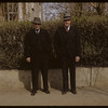 James McCuaig and Barney Arneson - 1272 George Street - North Battleford. 05/10/1942