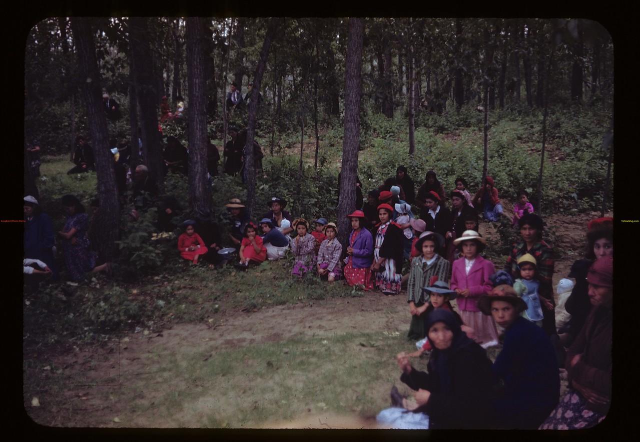 Indians - St. Laurent pilgrimage. Duck Lake. 07/16/1944