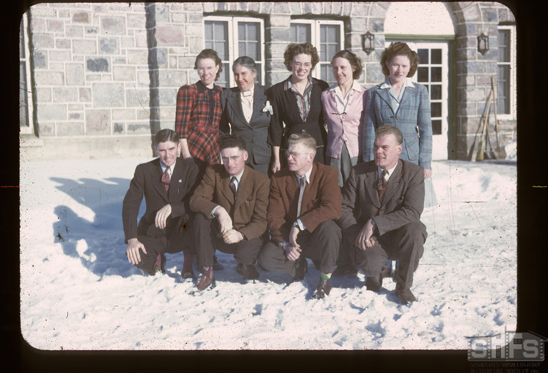 Instructors. Youth Training School. Kenosee. 11/26/1946