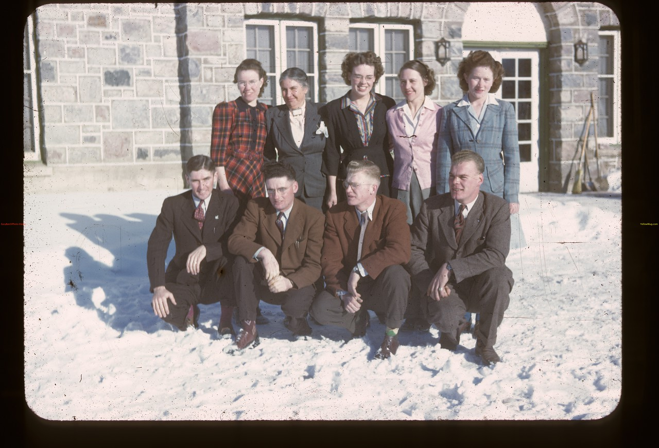 Instructors. Youth Training School. Kenosee. 11/26/1946