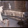 Co-op horse plant - packing tinned meat for UNNRA [United Nations Relief & Rehabilitation Administration].	 Swift Current.	 07/03/1946