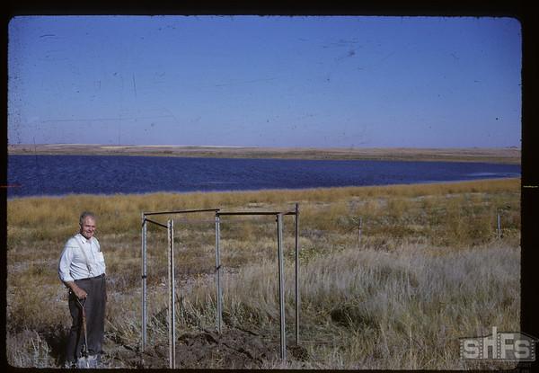 Everett Baker at location New Lone Tree at Lone Tree Lake. Canuck. 09/26/1962