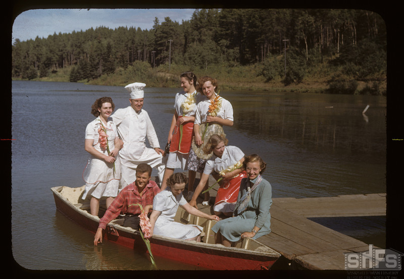 Chalet staff - Cypress Hills Park. Cypress Hills. 08/27/1948