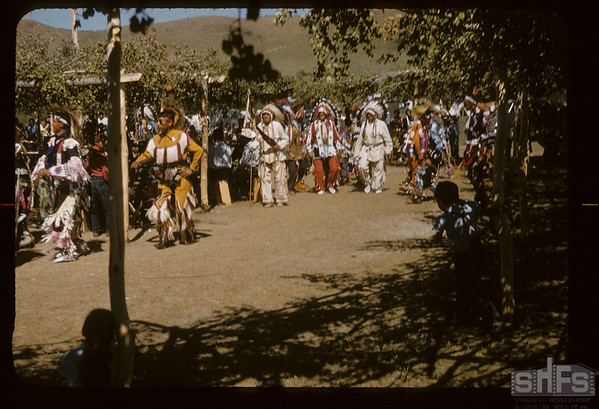 Youth Solo - then Old Men - Sioux Pow Wow. Fort Qu'Appelle. 08/18/1957