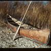 The chiefs birch bark canoe. Loon Lake.  10/29/1943