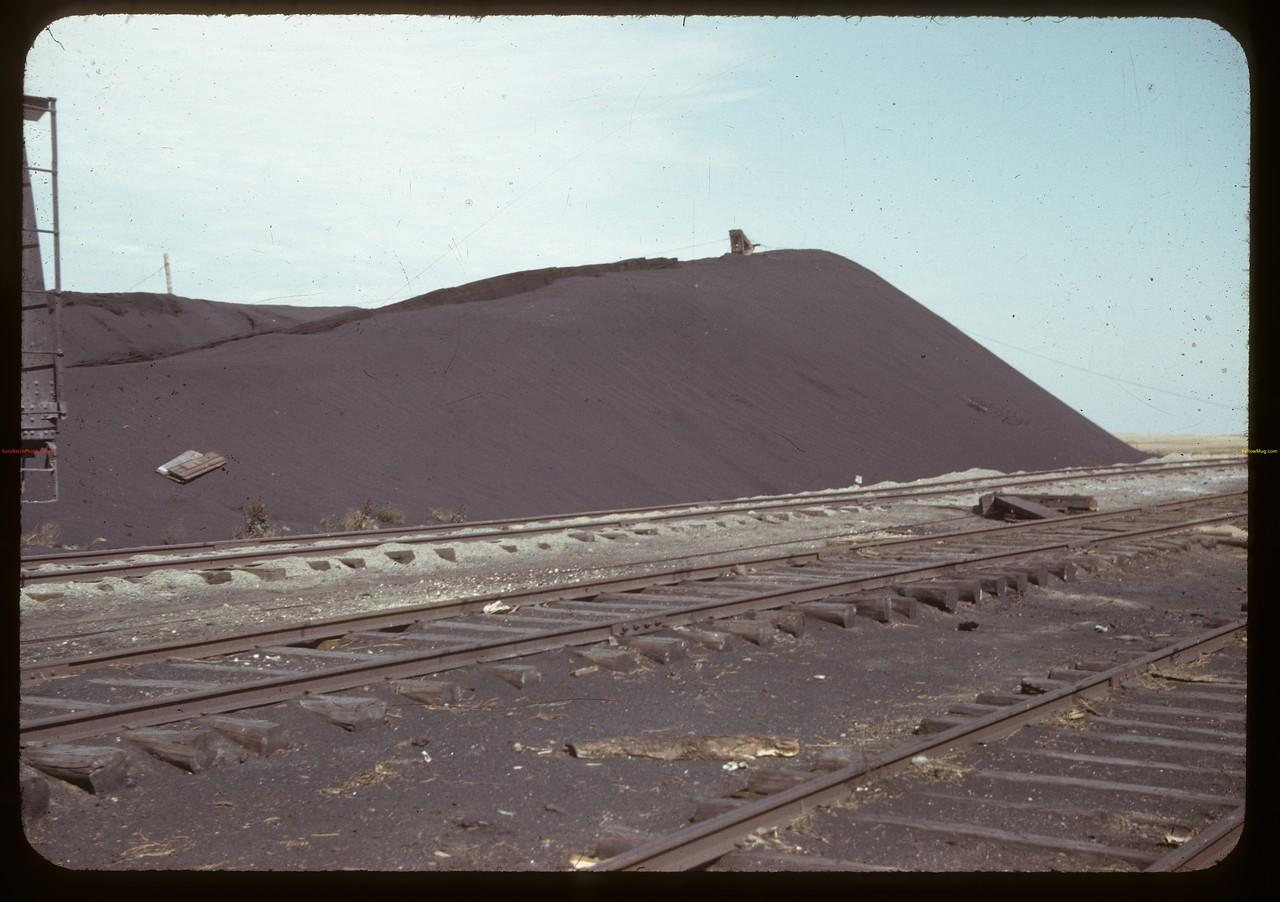Coal pile at M & S mine. Taylorton. 09/20/1942