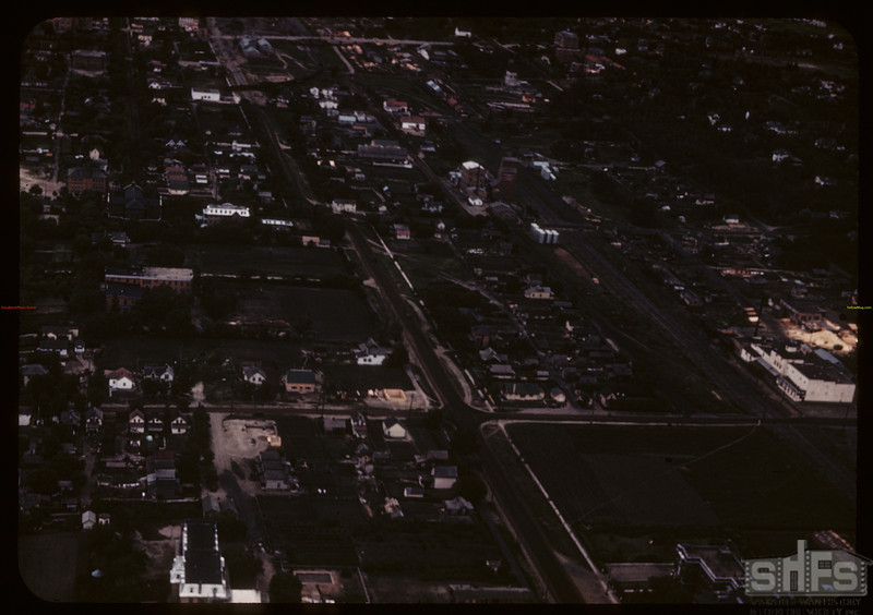 West side of Prince Albert from the air. Prince Albert. 06/22/1946